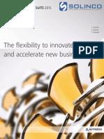 Factory Design Suite 2015 Brochure Solinco