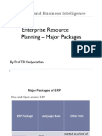 Major Packages of ERP