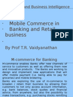 M-Commerce for Banking & Retailing