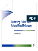 Removing Sulfur From LNG