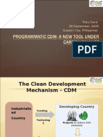 03 Why a PoA - Programmatic CDM- A New Tool Under Carbon Finance by Ms Rutu Dave