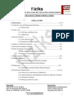 EMT Formula Sheet MSc Level