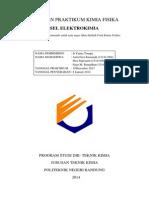 Laporan Praktikum Sel Elektrokimia