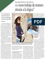 LA EVOLUCION  A VECES TRABAJA DE MANERA TOTALMENTE CONTRARIA A LA LOGICA - El Mercurio de Stgo - 03-10-14.pdf