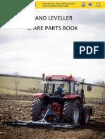Land Leveller Spare Parts List List