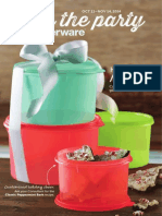 Tupperware mid-October Brochure – US English