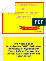 Hypertention in Diabetic Kidney Disease