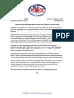 PR 14 10 06 Financing Report