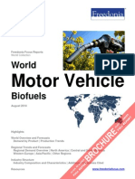 World Motor Vehicle Biofuels