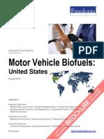 Motor Vehicle Biofuels