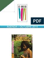 - AGENDA – OCTUBRE  2014.pptx