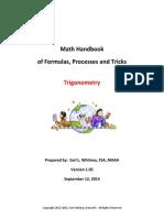 Trigonometry Handbook (Formula)