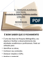 PPT 6  - TRABALHOS ACAD MICOS REFERENCIAS.ppt
