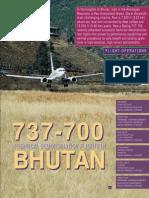 737-700Bhutan