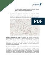 Tratamiento para cáncer de próstata consigue prolongar hasta 3 años la supervivencia en pacientes.docx