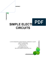 Electric Circuits Lesson Plan