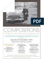 Compositions, A Filipino American Experience at the San Francisco Main Library