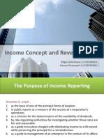 Income and Revenue