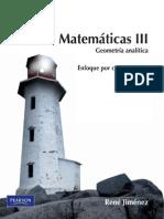 Matemáticas III, Geometría analítica-René Jiménez.pdf