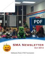 Oct '14 SMA Newsletter