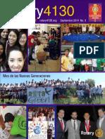 Distrito 4130 Carta del Gobernador Septiembre 2014.pdf