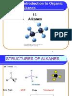 13 Alkanes