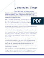 Recovery Strategies Sleep (1)