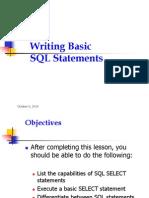 The SQL Program - Session - 01
