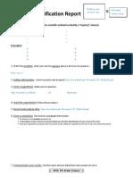 Mineral Scientific Method Lab Report