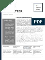 FS Newsletter - October 2014