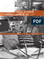 Dining Student Training Manual 8 17
