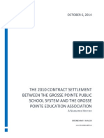 Narrative of 2010 GPPSS Teacher Contract