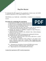 Procedure Plugflow