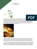 Philippine Modern Architecture