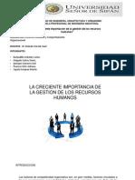 Importancia de la gestion de los recursos humanos.pptx