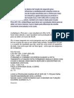 Analisar a aplicação abaixo de função de segundo grau.docx