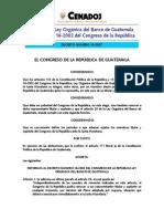 ley organica del banco de guatemala.pdf