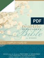 NIV Real-Life Devotional for Women Sampler