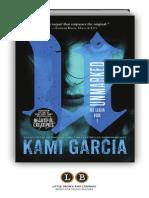 Unmarked by Kami Garcia [Excerpt]