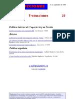 Traducciones 23 (1998)