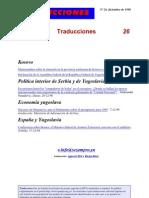 Traducciones 26 (1998)