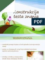 Konstrukcija testa znanja