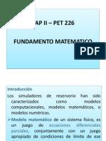 FUNDAMENTO MATEMATICO DE SIMULADORES DE RESERVORIOS.pptx