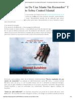 Eterno Resplandor De Una Mente Sin Recuerdos Y Su Mensaje Oculto Sobre Control Mental.pdf