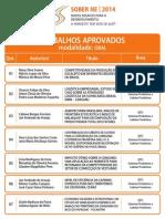 Lista de Trabalhos Aprovados - IX SOBER NE 2014.pdf