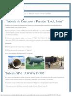 """Tubería de Concreto a Presión """"Lock Joint"""".pdf"""