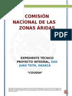 EXPEDIENTE TECNICO  SAN JUAN TEITA  , OAXACA.doc