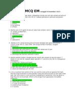 Soal Ujian Em 8 Des 2011