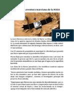 La última aventura marciana de la NASA.docx