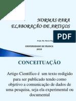 ARTIGO - ORIENTAÇÕES.ppt